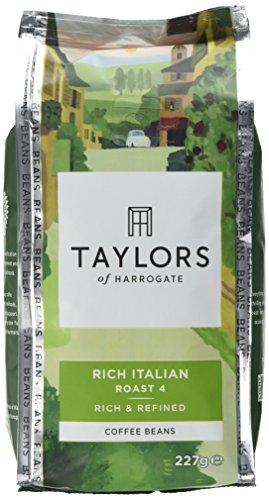 Taylors of Harrogate Rich Italian Coffee Beans, 227 g, Pack of 6 517nrMlUdnL