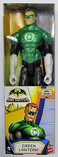 Mattel DJW76 Green Lantern Personaggio, 12 Pollici/30 Cm
