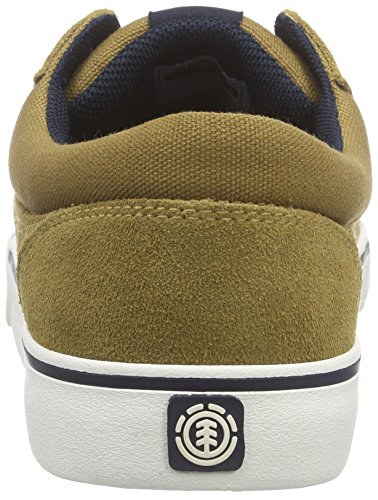 Element Wasso A, Chaussures de Skateboard homme Marron - Braun (CURRY NAVY 4076)