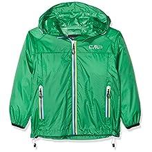 CMP - F.LLI Campagnolo Boys Rain Jacket, Green (Mint), 140