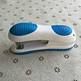 SEBAS Home Cucitrice Meccanica, cucitrice in plastica Colorata a Risparmio di Lavoro, cucitrice Meccanica (Color : Blue)