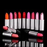 Xgeek® [12-Pack]-[12 Colors] Lipsticks Glossy Set for Fashion Women Beauty Makeup