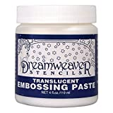 Stampendous Dreamweaver Prägung Paste 4oz-transluscent