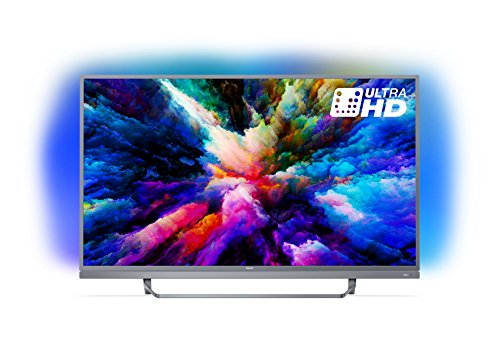 "Philips 49PUS7503 Smart TV UHD 4K, da 49"", Android, Ultra Slim, Ambilight, anno 2018 [Esclusiva Amazon.it]"