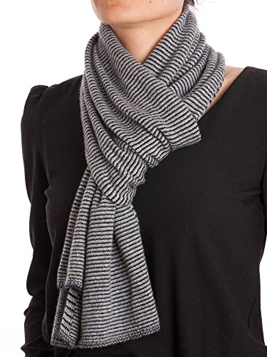 Dalle Piane Cashmere - Striped Scarf 100% cashmere - Woman/Man