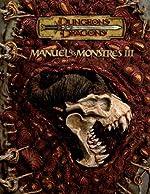 Manuel des Monstres 3 de Andy Collins