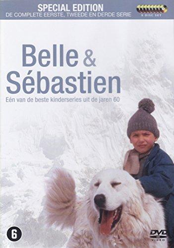 Belle et Sébastien - L'intégrale - Saison 1 a 3 (coffret 9 DVD) [import avec langue Francais]