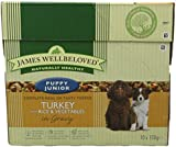 James Wellbeloved Puppy Food Pouch Turkey with Rice and Vegetables 10 x 150 g