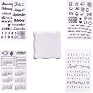 PH PandaHall Transparent Clear Stamp 10~20x10~21.5cm wh-DIY-PH0019-05