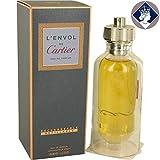 L 'ENVOL Cartier 100ml/3.3oz Eau de Parfum Refillable Perfume Spray for Men