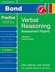 New Bond Assessment Papers Verbal Reasoning 8-9 Years by Frances Down (2014-04-01)