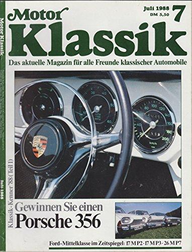 MOTOR KLASSIK - 7 - Juli 1988 - 12 Standard-motor