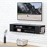FITUEYES Meuble Télé avec Support pour Téléviseur de 47 à 60 pouce Ecran LED avec Rangement pour DVD CD AV Equipement DS212002WB