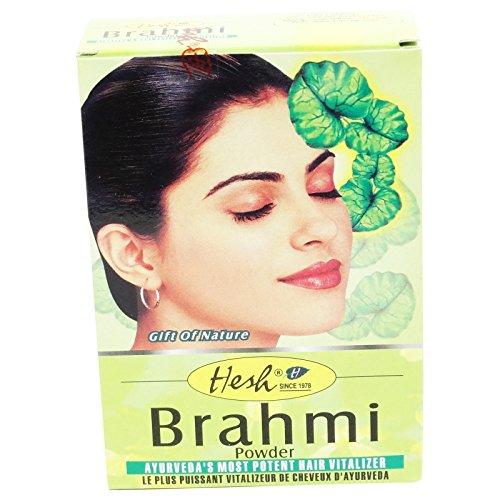 HESH - Poudre ayurvédique de Brahmi - Tonique et anti-âge, elle illumine le teint...