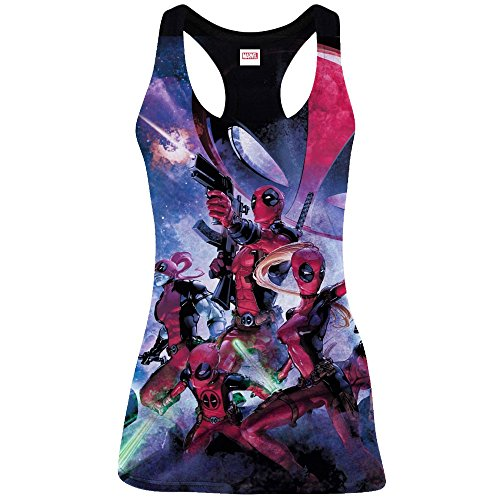 Deadpool débardeur femme Art (L)