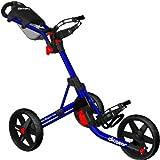 Clicgear Trolley Dark Blue with Black Wheels 1066 mm
