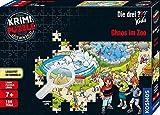 KOSMOS 697990 Krimipuzzle ??? Kids 150 Teile / Chaos im Zoo