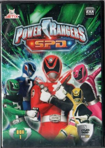 POWER RANGERS S.P.D. BOX 1 - 5 DVD