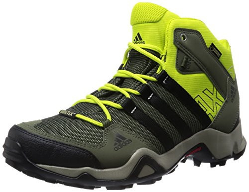 adidas Originals Herren AX2 MID GTX Trekking- & Wanderstiefel Violett (Collegiate Navy/Core Black/Solar Red) 45 1/3 EU