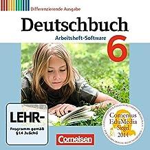 Deutschbuch 6. Schuljahr. Übungs-CD-ROM zum Arbeitsheft: Zu allen differenzierenden Ausgaben