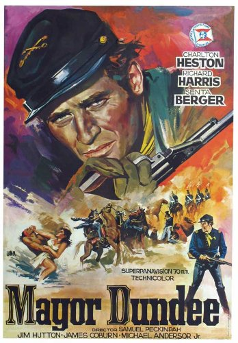 major-dundee-poster-de-pelicula-espanol-11-x-17-en-28-cm-x-44-cm-charlton-heston-richard-harris-jame