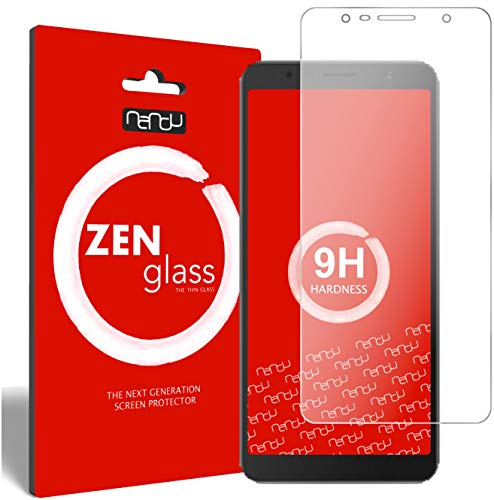 ZenGlass [2 Stück Flexible Glas-Folie für Alcatel 3C Panzerfolie I Bildschirm-Schutzfolie 9H