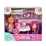 Simba - 105732831 - Poupées et mini-poupées - Evi Love - Fête des Animaux + Accessoires