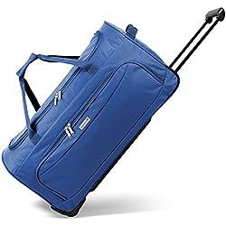 Geräumige noorsk® Reisetasche Sporttasche in verschiedenen Farben - XL - Blau