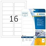 Herma 4420 Namensetiketten ablösbar  400 Stück auf 25 Blatt DIN A4