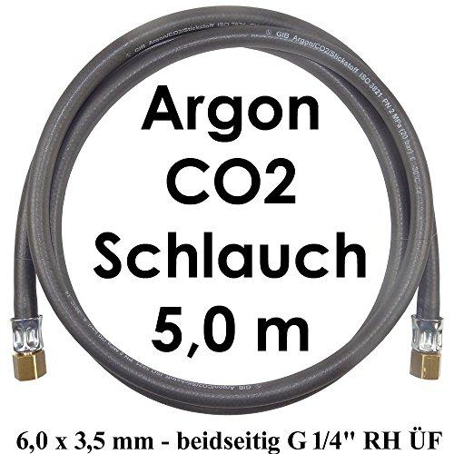 Gasschlauch 5 Meter beidseitig G 1/4