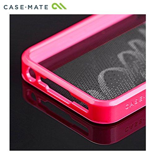 Case Mate CM022460  Glam Case für Apple iPhone 5 silber Pink