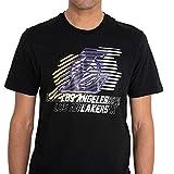 New Era T-Shirt NBA Logo Repeat Tee Los Angeles Lakers - Black - S