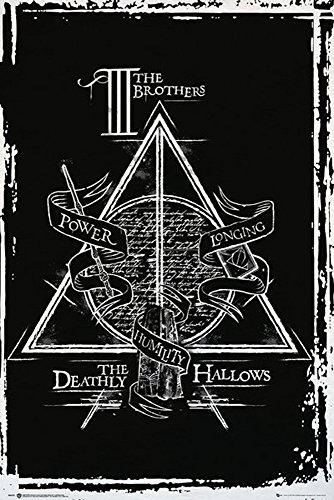empireposter 738295 Harry Potter - Deathly Hallows Graphic -