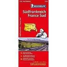 Michelin Frankreich Süd: Straßen- und Tourismuskarte (MICHELIN Nationalkarten)