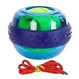 Spaceball Fingertrainer Ball Unterarmtrainer Handgelenktrainer, WristBall Power Arm Twister, Ø 7,5cm, Inklusive Übungsanleitung - 2