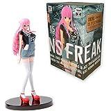 ONE PIECE figure de collection Figurine Perona Perhona 17cm Ver.B T-shirt NOIR JEANS FREAK One Piece Banpresto