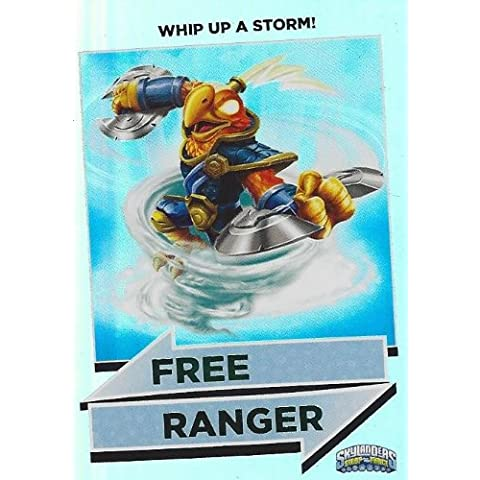 Skylanders Swap Force Series 2 Free Ranger Rainbow Card