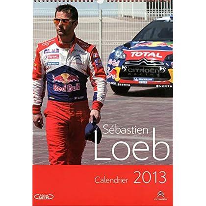 Calendrier Sébastien Loeb 2013