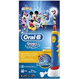 Oral-B Stages Power Kids - Cepillo de dientes eléctrico, diseño Mickey Mouse