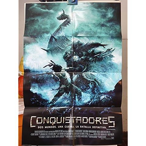 Original International Spanish Movie Poster Pathfinder Conquistadores Karl Urban Clancy Brown Moon Bloodgoo
