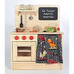 Cocina de Juguete de Madera, juego simbólico, cocinitas para niños, juego de imitación.