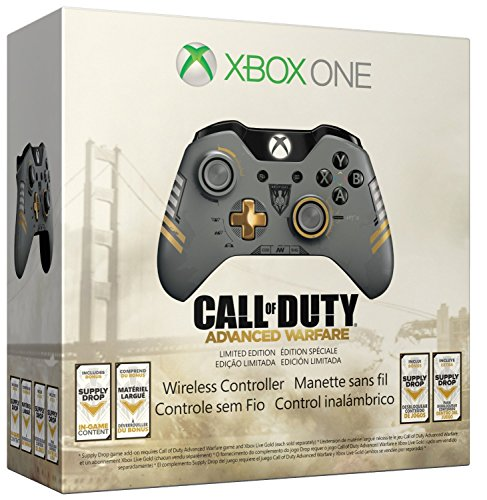 Xbox One Limited Edition Call of Duty: Advanced Warfare Wireless Controller by Microsoft (Xbox One Advanced Warfare)
