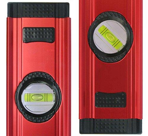Kaleas Digitale Wasserwaage 100cm mit 3-fach Libellen, integrierten Magneten und Schutz-Tasche (34190)
