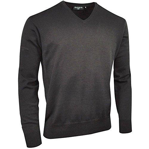 Glenmuir Mens Eden V Neck Lightweight Sweater Pullover Golf Jumper Lightweight V-neck Sweatshirt