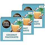 Nescafé Dolce Gusto capsules Coconut Macchiato Vegan - 36 koffiecups - geschikt voor 36 koppen koffie - Dolce Gusto cups