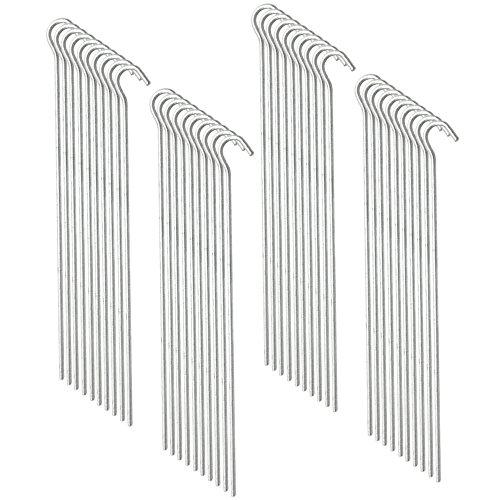 com-fourr-40x-zelt-heringe-aus-verzinktem-stahl-geschwungen-23-cm-lang-starke-45-mm