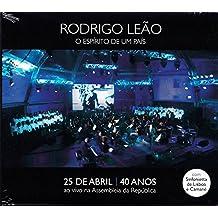 Rodrigo Leao - O Esperito Da Um Pais: Ao Vivo Na Asembleia Da Republica [CD+DVD] 2014