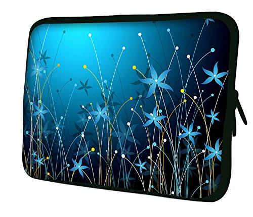 7.9Design ipad Mini/iPad Mini 2/iPad Mini 3Custodia morbida Borsa Pelle. Vestibilità perfetta. Diversi modelli disponibili. (parte 1di 3) Blue Flowers