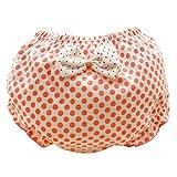 Eozy Baby Mädchen Windelhose Unterhose Schleife Unterwäsch Windel color 3 Größe 90