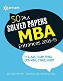50 + MBA Solved Papers Entrances (Old Edition)